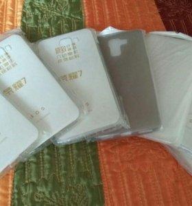 Huawei Honor 7 чехол-накладка силиконовый