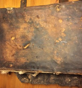 Антикварная книга ориентировочно 18-го века не поз
