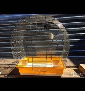 Клетка большая для попугайчиков