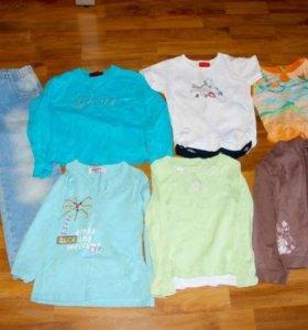 Пакет одежды для девочки 110 размера
