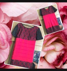 Атласное Платье новое