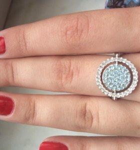 Серебряное кольцо р18-18,5