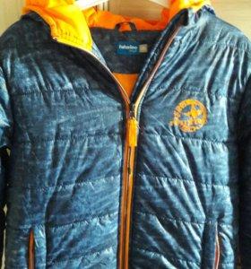 Куртка ,утепленая.Рост 146