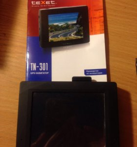 Gps навигатор Texet TN-301 без карт