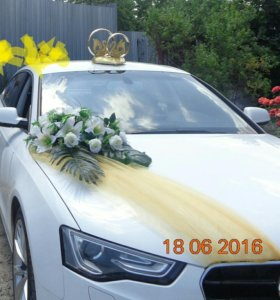 Свадебные украшения на машину+подарок