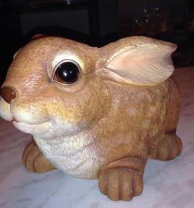 """Подставка под горшок """"Кролик"""""""