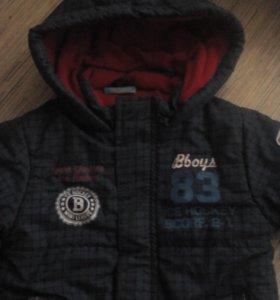 Осеньняя куртка для мальчика