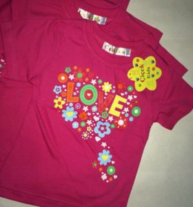 Детская футболка 2 года