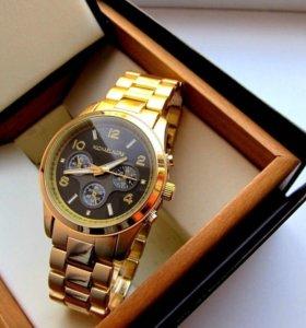 Новые часы,металл