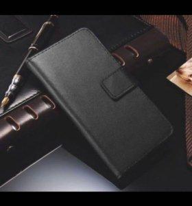 """Черный чехол книжка для Apple iPhone 6 Plus 5.5"""""""
