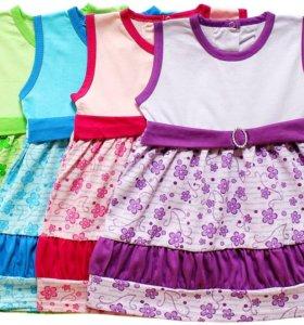 Платья трикотаж летний