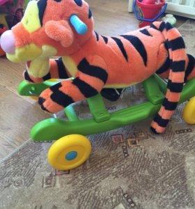 Каталка- качалка Тигруля
