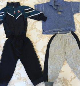 Пакет с одеждой для мальчика от 2 до 5 лет