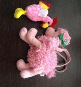 Маленькие мягкие игрушки