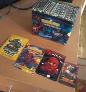 Карточки+коробка