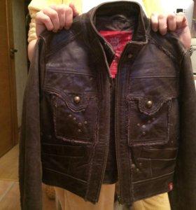 моднющая кожа куртка
