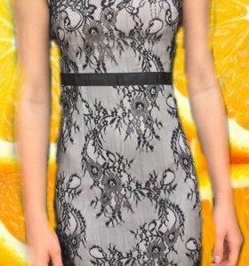 Размер 44, стильное женское платье!