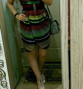 Платье шифоновое 44 размер