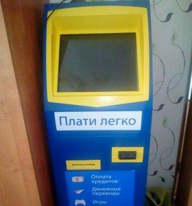 Платежный терминал.