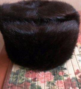 Шапка ондатровая