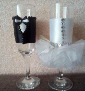 Выполнение свадебных аксессуаров на заказ