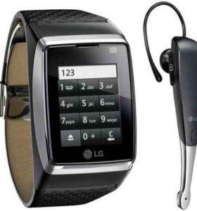 Часы телефон.LG910