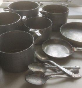 Алюминиевая посуда СССР