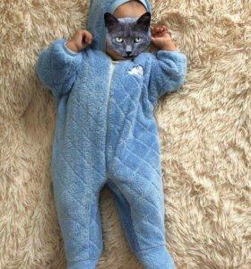 Тёплый костюм Мишка