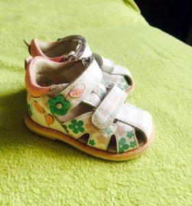 Босоножки kapika для девочки