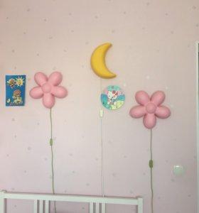 Светильники для детской 3 шт