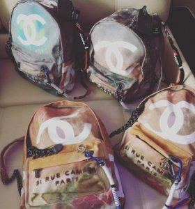 Тканный рюкзак Шанель