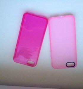 Чехлы силиконовые для IPhone 5