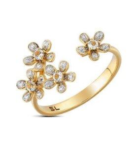 Кольцо золото с бриллиантами %%%%%
