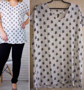 Новая блуза 54,56