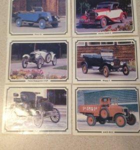 "Коллекция открыток ""ретро автомобили""."