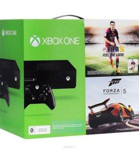 XBOX ONE 500Gb/2гры fifa15+Forza5.