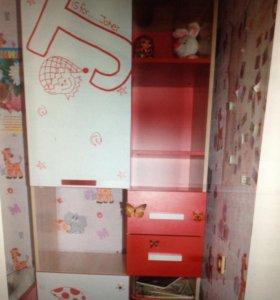 Детский комбинированный шкаф