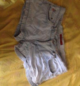 Джинсовые шорты 48-50 размер