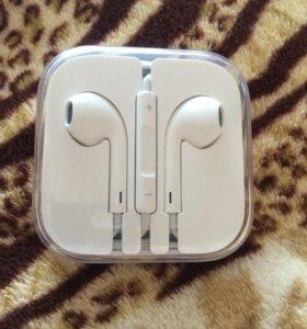 Наушники оригинальные Apple новые