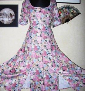 Платье халат 44-46 Паннинтер
