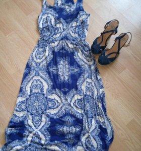 Платье INCITY р-р 46 + босоножки 38 р-р