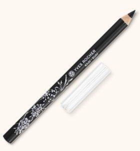Черный карандаш для контура глаз Yves Rocher