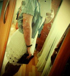 Платье 800р,жакет 400