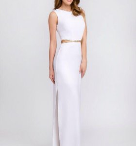 Белое платье в пол. Новое.