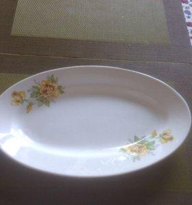 Блюдо овальной формы - 2 шт