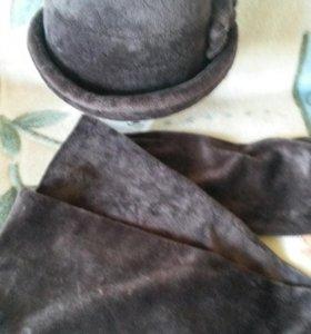 Шляпка*шарфик