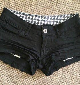 Джинсовые шорты размер S