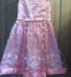 Платье праздничное 3-5лет