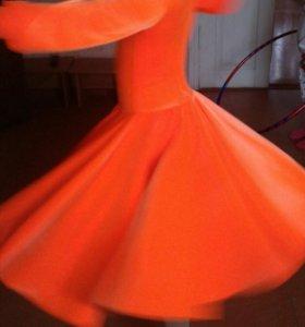Платье для парных танцев.