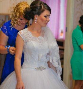 Шикарное платье шикарной невесте)